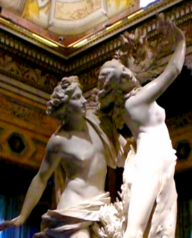 Bernini's Apollo & Daphne, 17th Century.