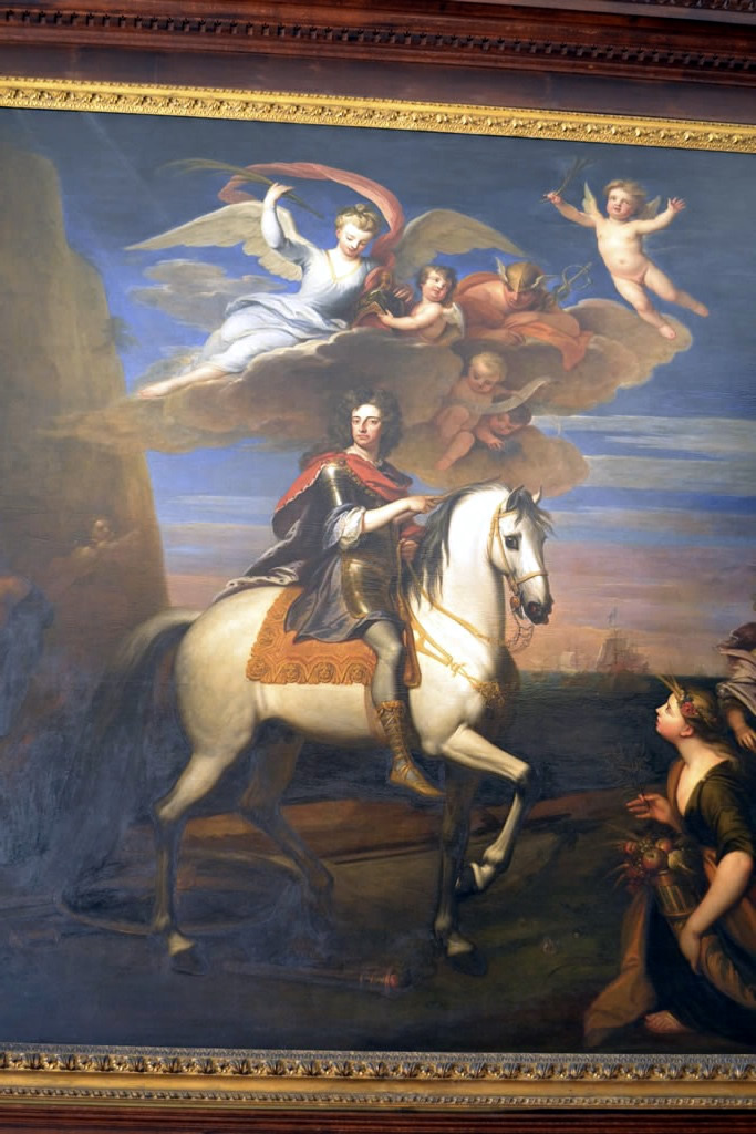William III by Kneller in The King's Presence Chamber, Hampton Court Palace. Photo: Andrea Zuvich