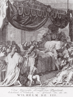 William III's Deathbed. Image: Art.com
