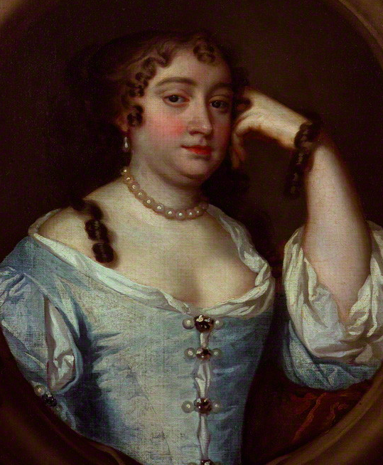 Anne Hyde, Duchess of York after Sir Peter Lely. Photo: The National Portrait Gallery, London.