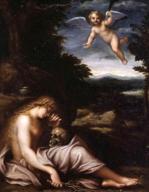 """""""The Penitent Magdalene."""""""