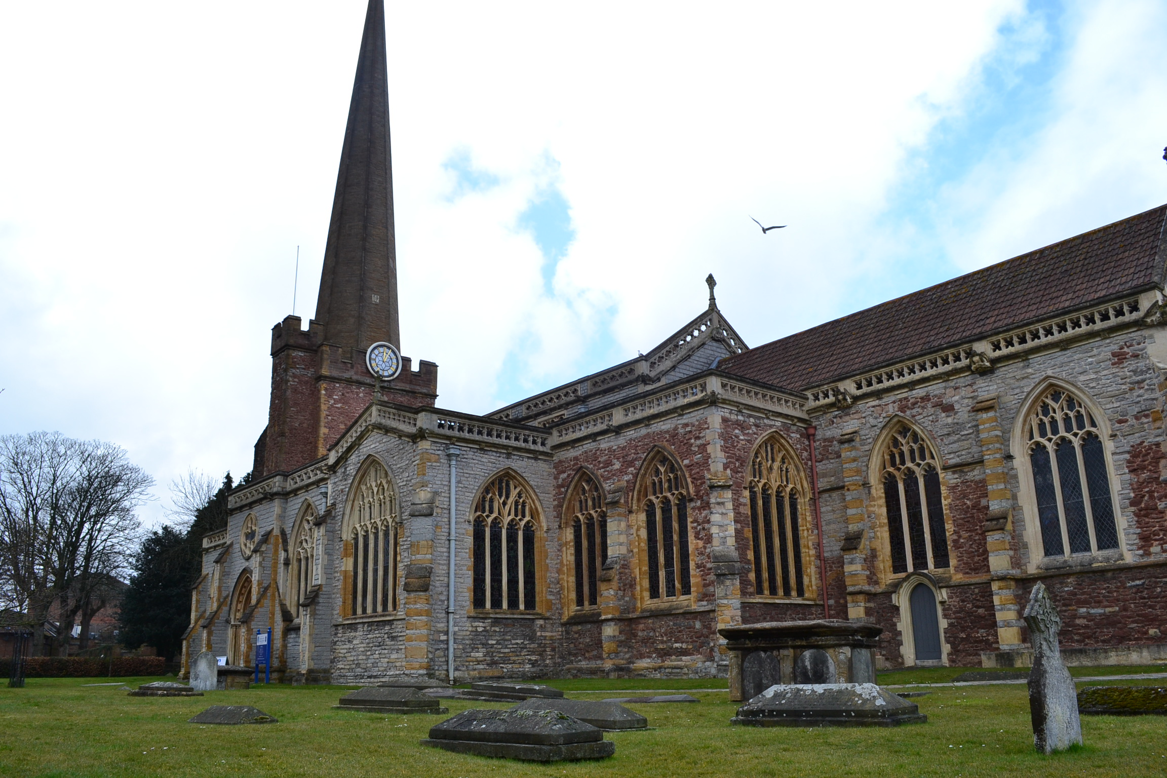 St. Mary's Church, Bridgwater | The Seventeenth Century Lady
