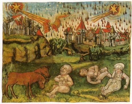 1513-LuzernerSchilling comets bring death and disease