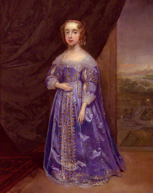 Mary, Princess of Orange by Cornelius Johnson. Image: National Portrait Gallery, London.