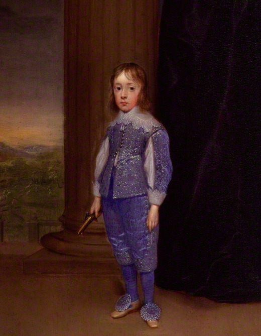 King James II by Cornelius Johnson. Image: National Portrait Gallery, London.