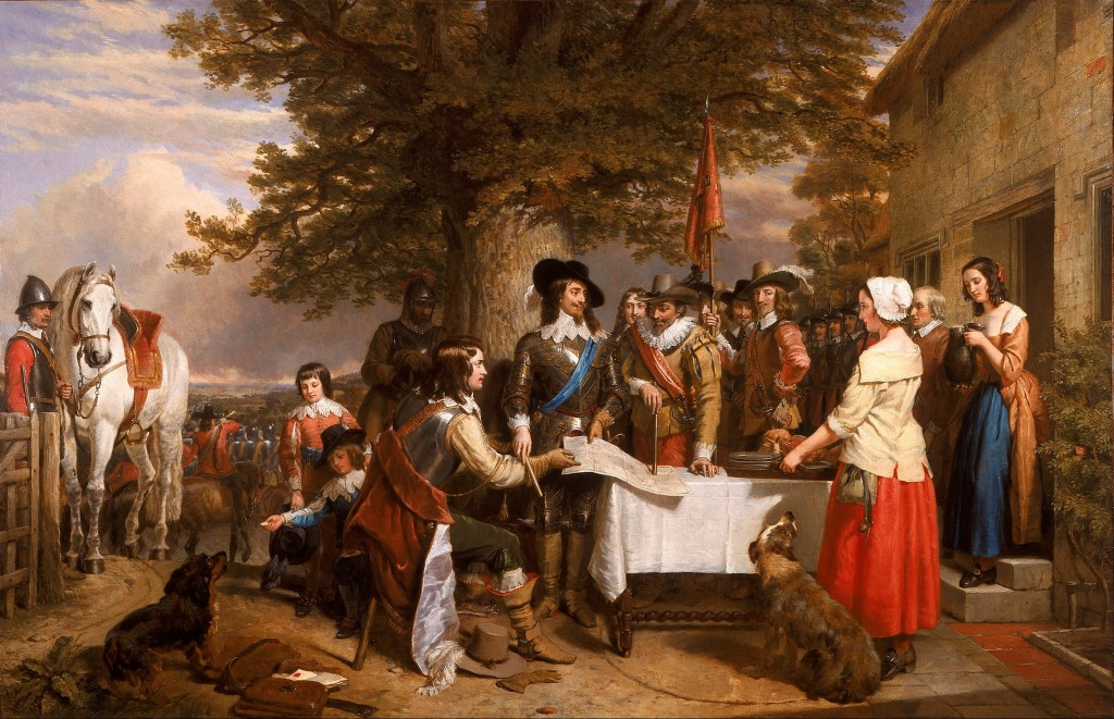 The Eve of the Battle of Edge Hill, 1642