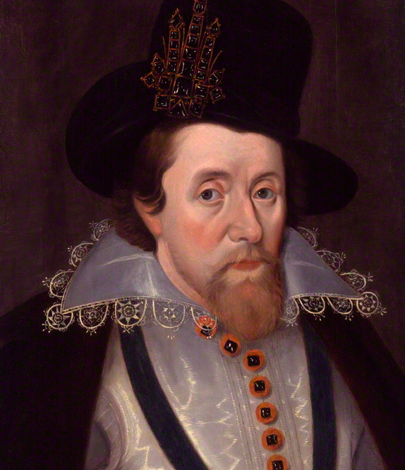 King James I of England and VI of Scotland after John De Critz the Elder. © National Portrait Gallery, London