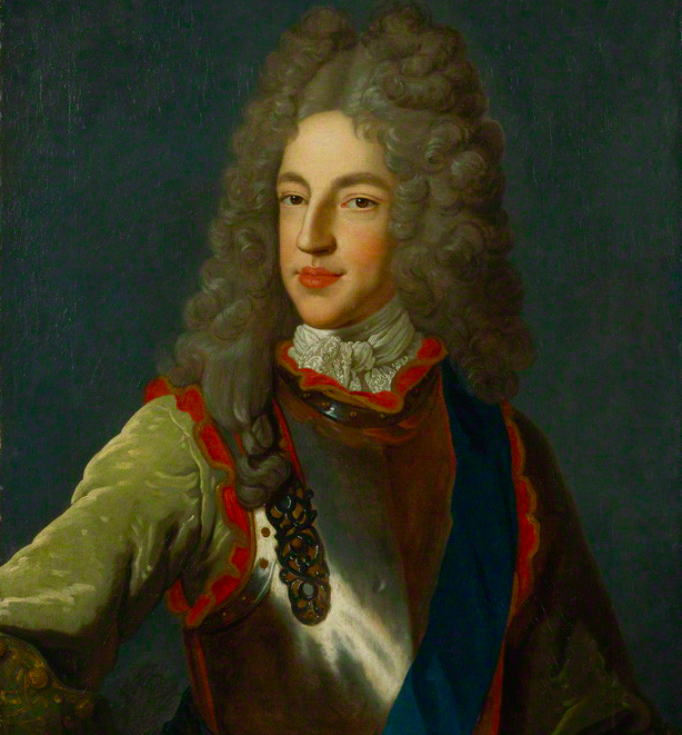 Prince James Francis Edward Stuart. studio of Alexis Simon Belle, circa 1712. © National Portrait Gallery, London