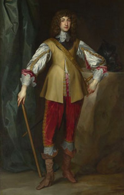 Prince Rupert, Count Palatine, about 1637. Studio of Anthony van Dyck. © The National Gallery, London.