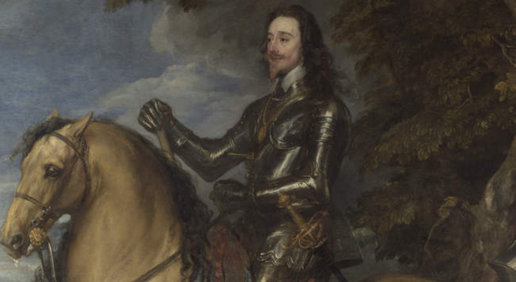 Equestrian Portrait of Charles I, about 1637-8. Anthony van Dyck. © The National Gallery, London.