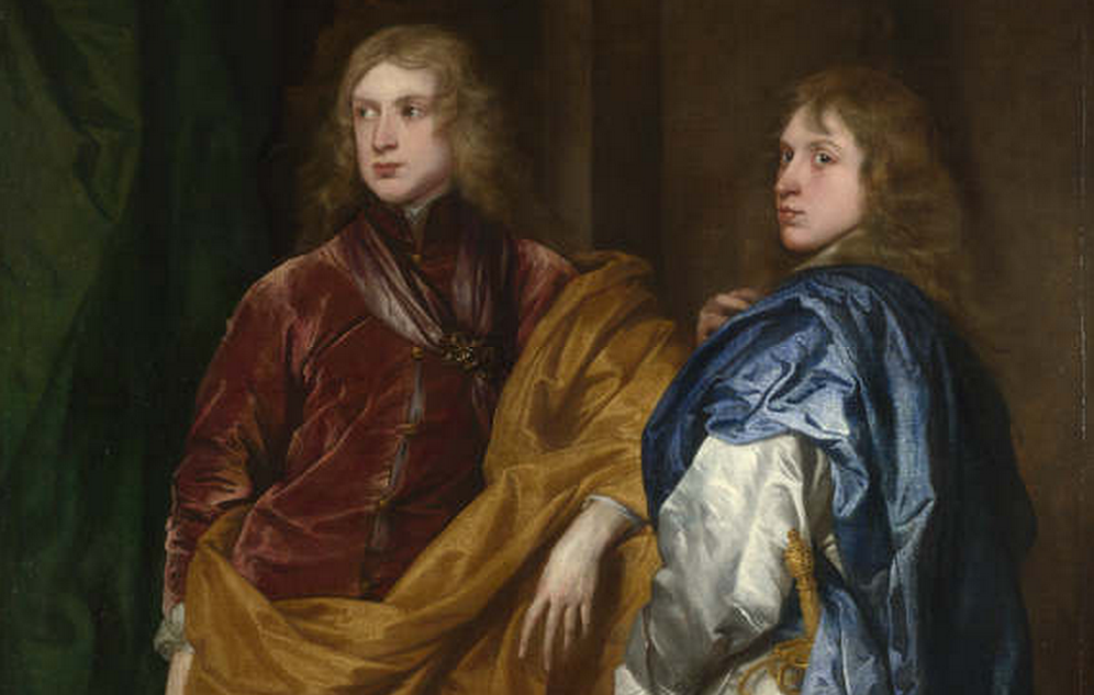 "Detail from ""Portraits of Two Young Englishmen"", about 1635-40, Anthony van Dyck. © The National Gallery, London."
