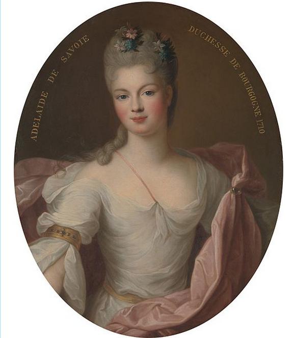 Portrait de Marie Adélaïde de Savoie (1685–1712), Duchesse de Bourgogne, 1710. Metropolitan Museum of Art.