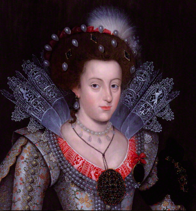 Elizabeth, Queen of Bohemia. Artist Unknown. NPG 5529, © The National Portrait Gallery, London.