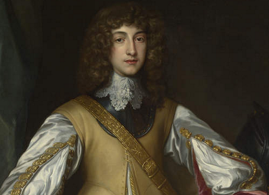 Prince Rupert of the Rhine and boy