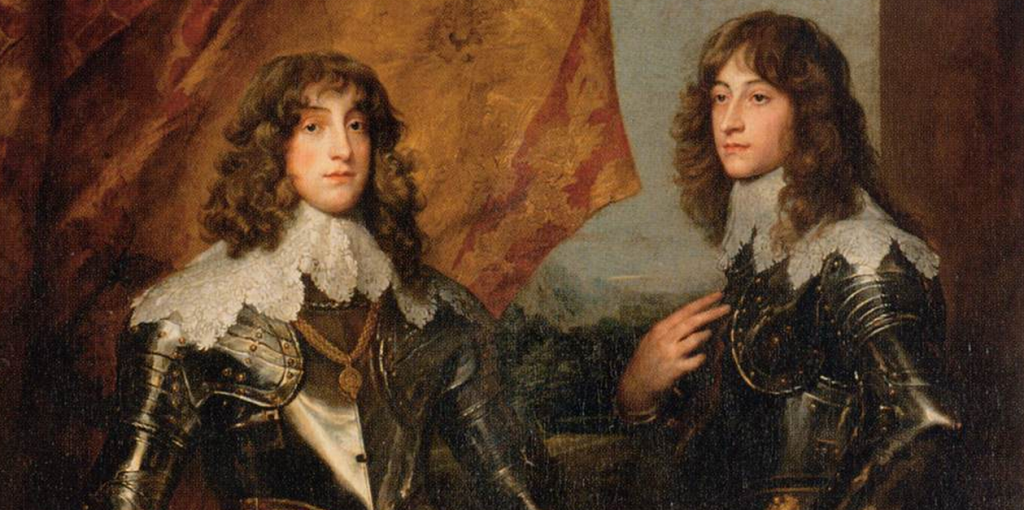 DYCK, Sir Anthony van Portrait of the Princes Palatine Charles-Louis I and his Brother Rupert 1637. Web Gallery of Art