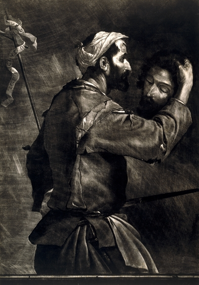 Prince Rupert (Ruprecht of Pfalz), The Great Executioner, a mezzotint. © Trustees of the British Museum