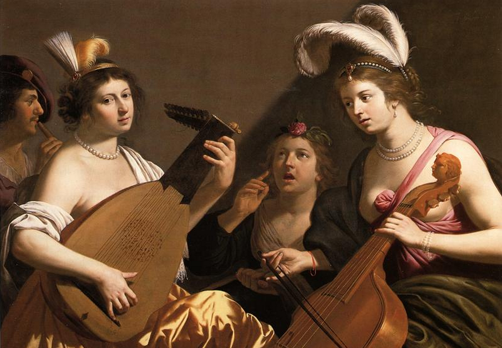 BIJLERT, Jan van The Concert 1635-40 Oil on canvas Private collection, Web Gallery of Art.