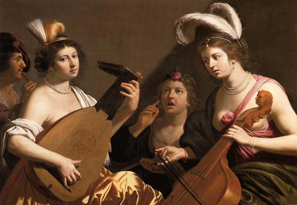 BIJLERT, Jan van The Concert 1635-40 Oil on canvas Private collection, Web Gallery of Art.