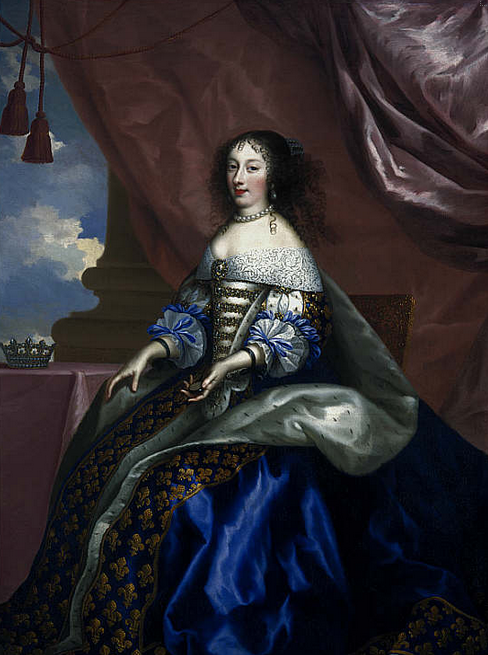 Henriette Anne, Duchess of Orleans, 1644 - 1670. Fifth daughter of Charles I, Jean Nocret, 1660. © National Galleries of Scotland