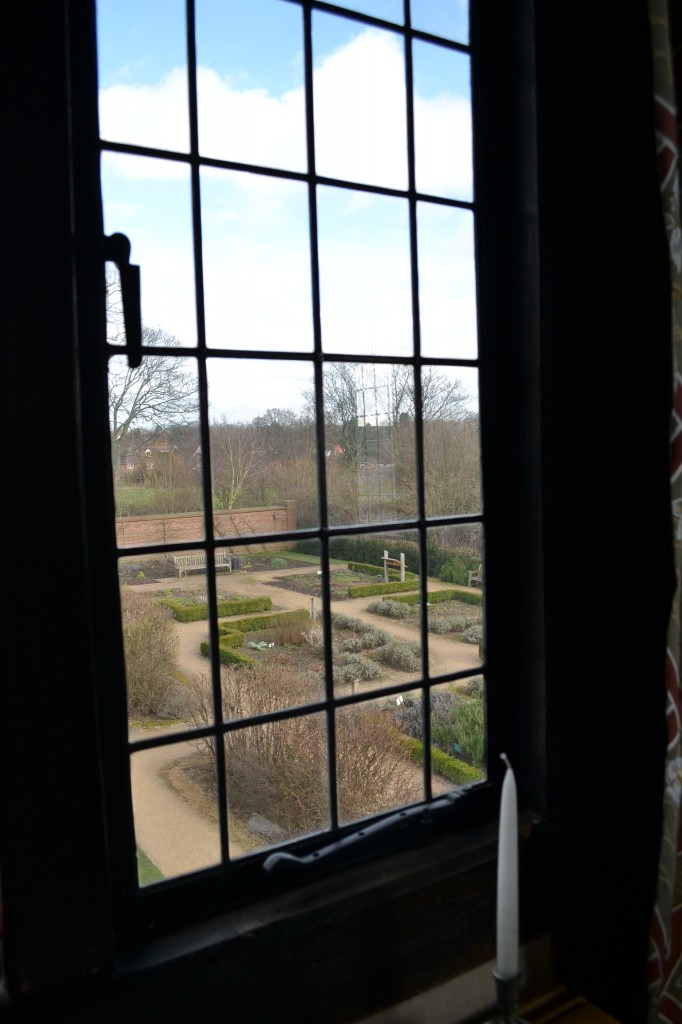 View of herb garden; Blakesley Hall; Photo: Andrea Zuvich