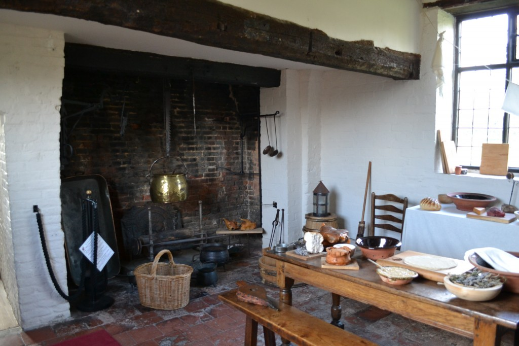 Kitchen from c. 1650, Blakesley Hall, Photo: Andrea Zuvich