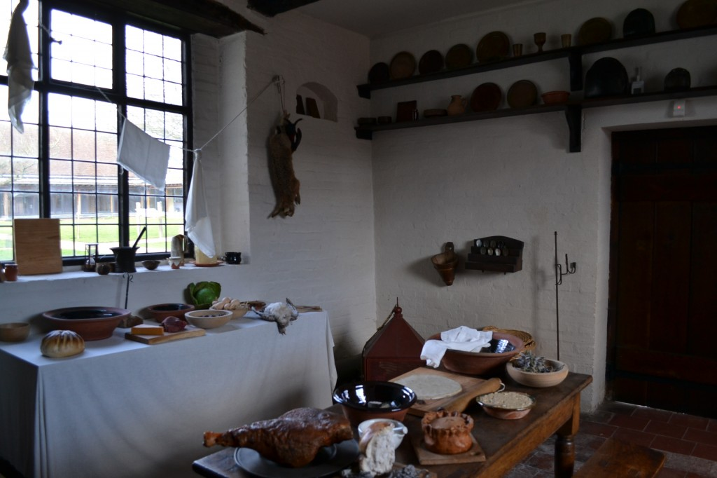 Kitchen, c. 1650, Blakesley Hall, Photo: Andrea Zuvich