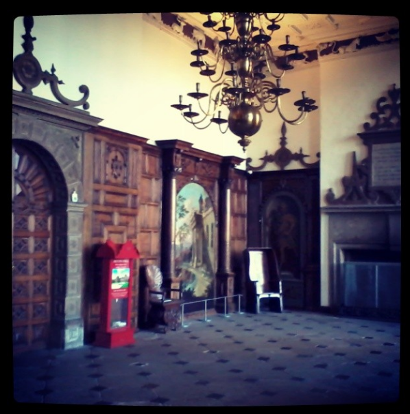 The Great Hall, Aston Hall. Instagram photo by Andrea Zuvich