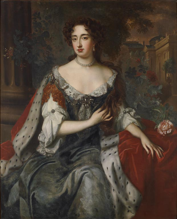 William Wissing Queen Mary II (1662-94) Reigned with King William III 1688-94. © Government Art Collection.