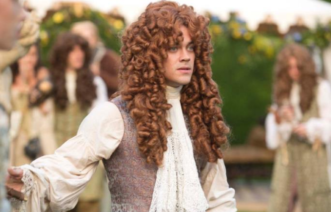 Tom Payne as Monmouth. Image: Channel4