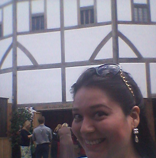 Andrea at The Globe