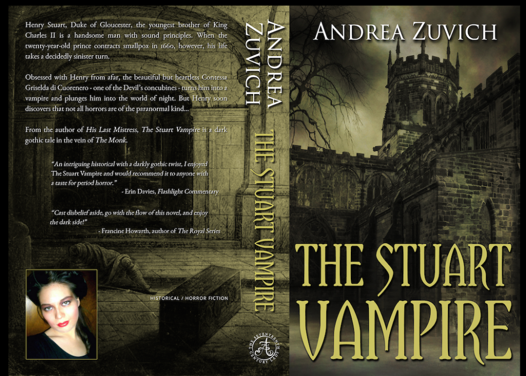 The Stuart Vampire paperback cover