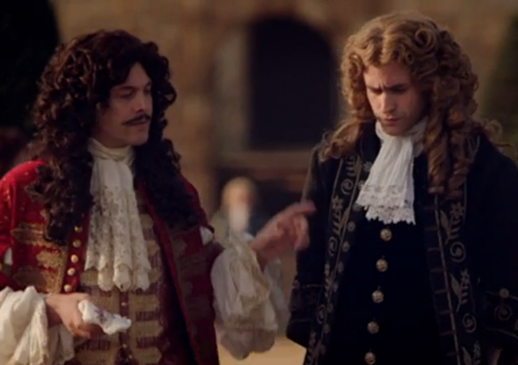 Jack Huston as King Charles II. Oliver Jackson-Cohen as James, Duke of York. ITV's The Great Fire