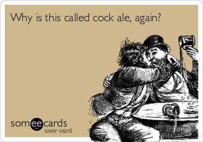cock ale