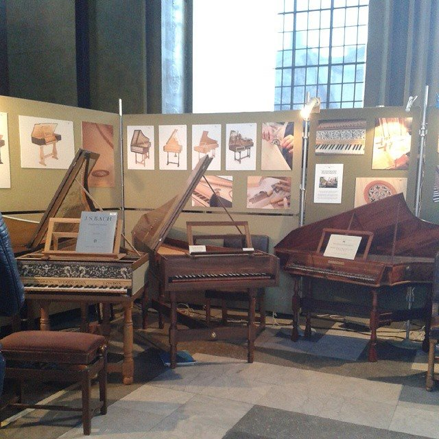 Harpsichords, yo! Harpsichords!