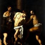 Flagellazione di Cristo by Caravaggio, 1607-10. Museo di Capodimonte, via Wikimedia.
