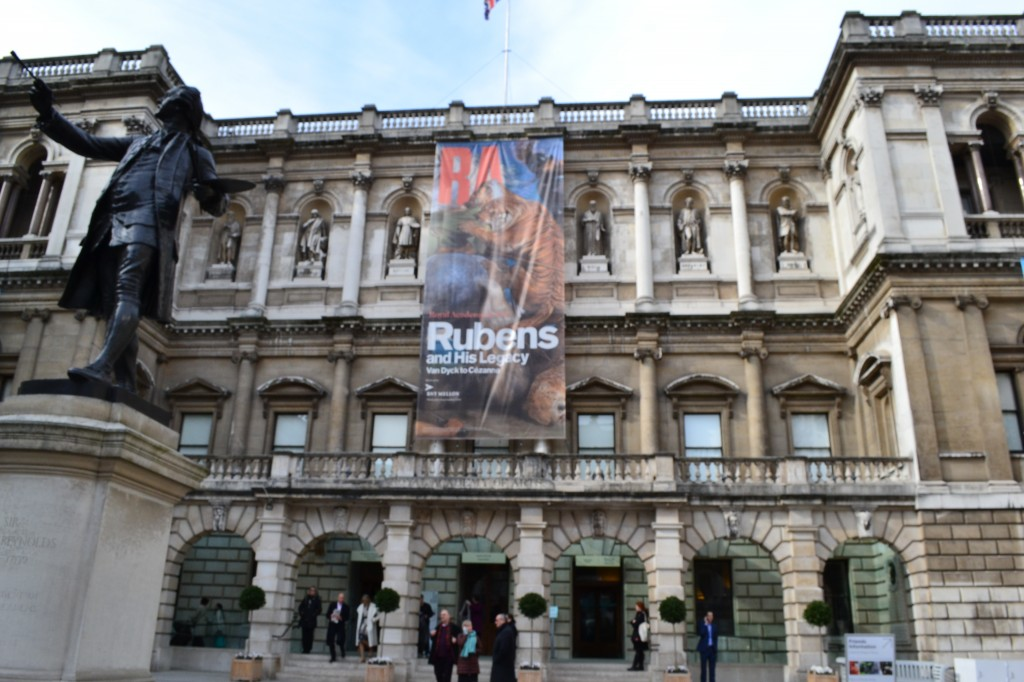 The Royal Academy entrance