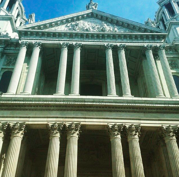 St. Paul's Cathedral. What's not to like? © Andrea Zuvich