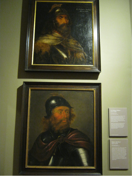 Two portraits of Kings from the famous Triumphal Arch created for Charles I in 1633