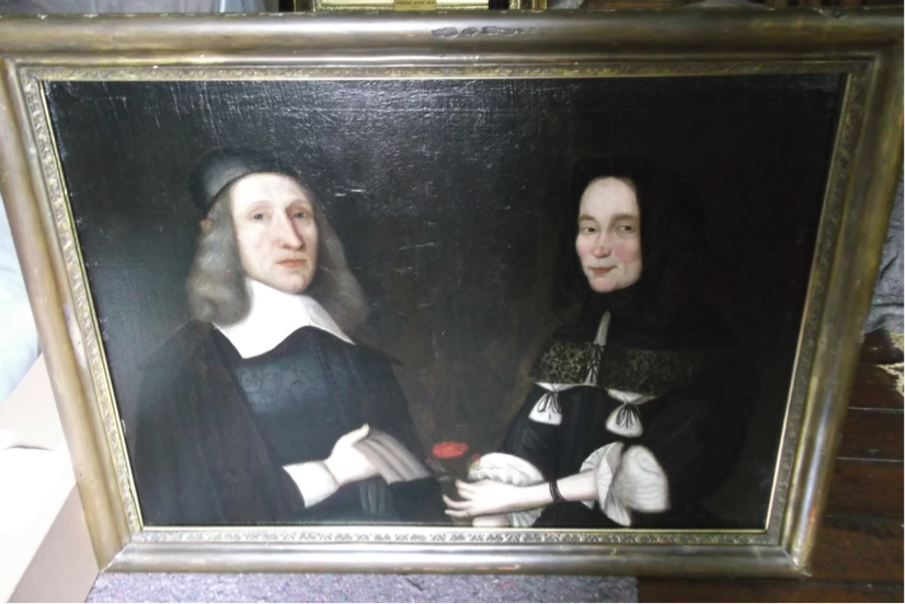 Marjory Jamesone and her husband John Alexander, Aberdeen Art Gallery